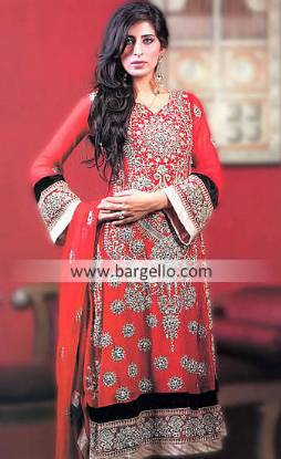 Awesome Collection of Embroidered Long Shirt Bollywood Outfits 2013 Las Vegas Nevada