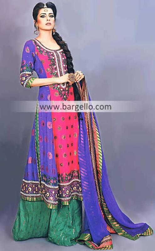 Beautiful Pakistani Designer Clothing Party Wear And Shararas Sheffield UK