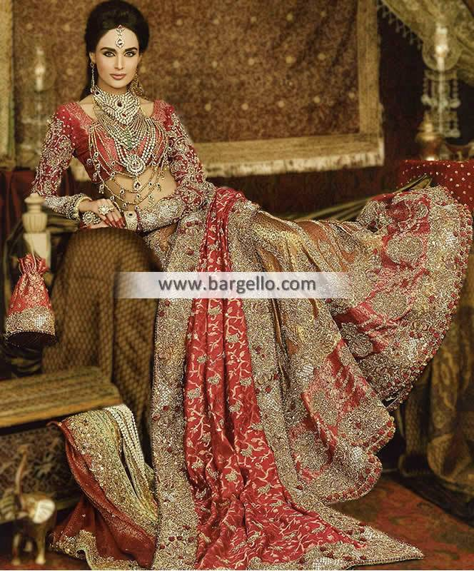 Designer Bridal Lehengas Choli with Embroidery For Indian and Pakistani Wedding Stavanger Norway