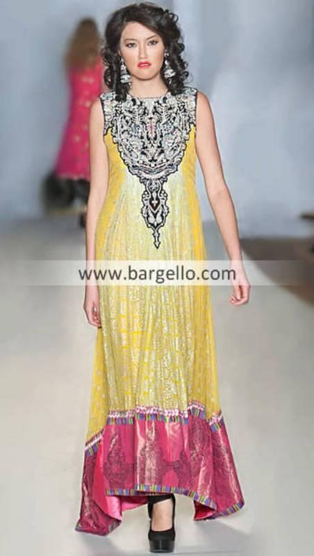 Beautiful Anarkali Frock Dresses By Pakistani Designers The Galleria Mall Houston Texas