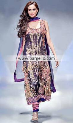 Beautiful Designer Outfits by Top Designers in Pakistan Fashion Week London