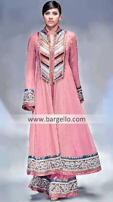 Anarkali Pishwas Dresses by Top Pakistani Designers Destiny Mall Syracuse New York