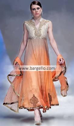 Designer Deepak Perwani Party Outfits in London Fashion Week 2012-2013