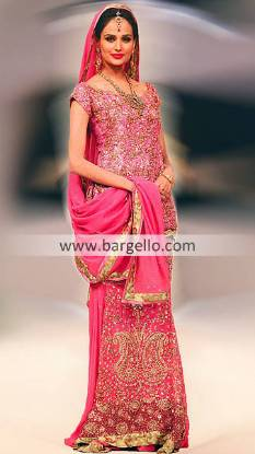 Designer Bridal Dresses Pakistani on Sale Connecticut, Pakistani Indian Chiffon Dresses Minnesota US