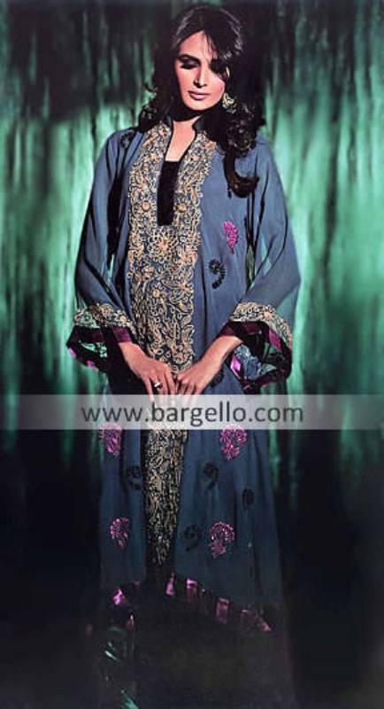 Pakistani Latest Party Outfits Warminster PA, Latest Chiffon Indian Party Dresses Rockville