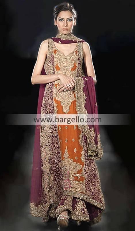 Pakistani Fashion Boutique California, Pakistani Indian Fashion Week California USA, Chiffon Dresses