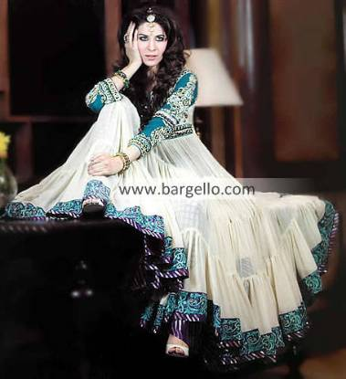 Pakistani Special Occasion Dresses, Pakistani Indian Special Occasion Wear, Embellished Party Dress