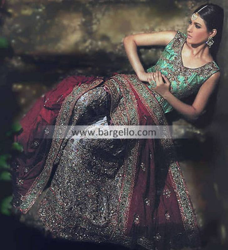 Indian Pakistani Bridal Dresses For Wedding By Top Designers, Wedding Dresses Pakistani 2012 2013