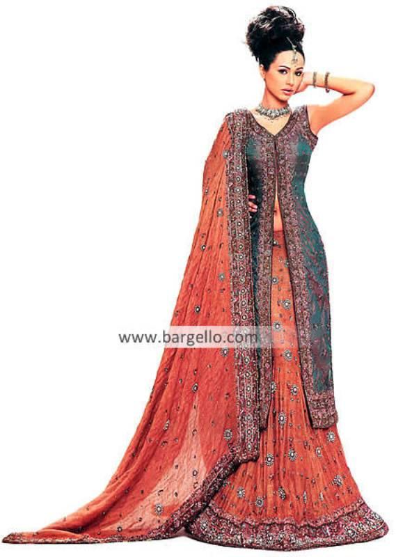 Pakistani Wedding Styles, Pakistani Indian Bridal Dresses Styles, Latest Bridal Sharara Gharara