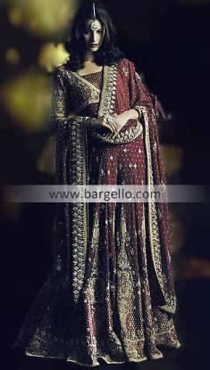 Chiffon Lehenga Choli, Indian Bridal Wear, Chiffon Indian Pakistani Dress, Indian Fashion Blog