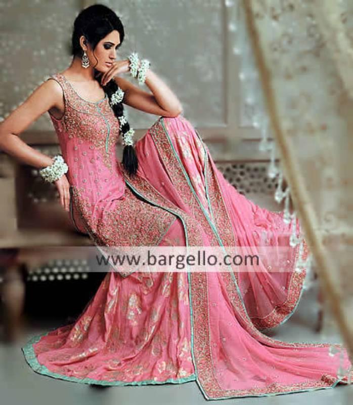 Pink Pakistani Bridal, Pink Pakistani Lehenga, Pink Asian Bridal Dress, Latest Pakistani Pink Bridal