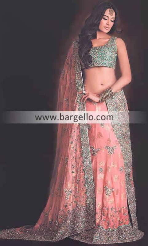 Chiffon Lehngas, Chiffon Lehenga Choli, Chiffon Lehnga Saree, Chiffon Lehnga Bridal Wear Online