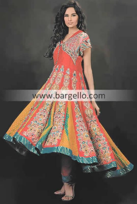 Party Wear Anarkali Suits, Updated Anarkali Suits, Colorful Anarkali Suits, Brocade Anarkali Suits