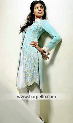 Trouser Kameez, Indian Trouser, Pakistani Trouser Suits, Turquoise Embellished Dress