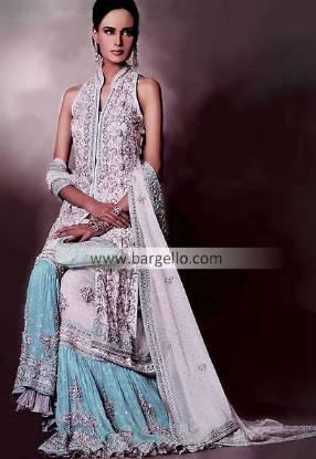 Bridal Gharara, Bollywood Designer Gharara, Pakistani Designer Boutique, Wedding Gharara India Pak