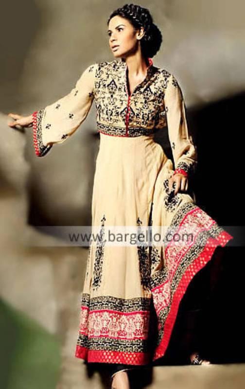 Anarkali Pishwas Dresses UK, USA And Canada