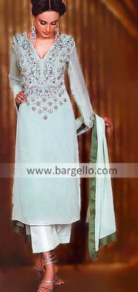 Chiffon Shalwar Kameez, Silk Shalwar Kameez Wedding Function Party