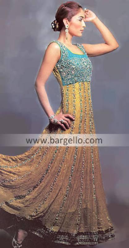 Pakistani Indian Anarkali Pishwas Dress Chiffon Anarkali Churidar Pajama Frock Style Pishwaz