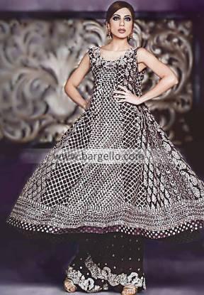 Pakistani Indian Anarkali Pishwas Dress Churidar Pajama Frock Style Pishwaz