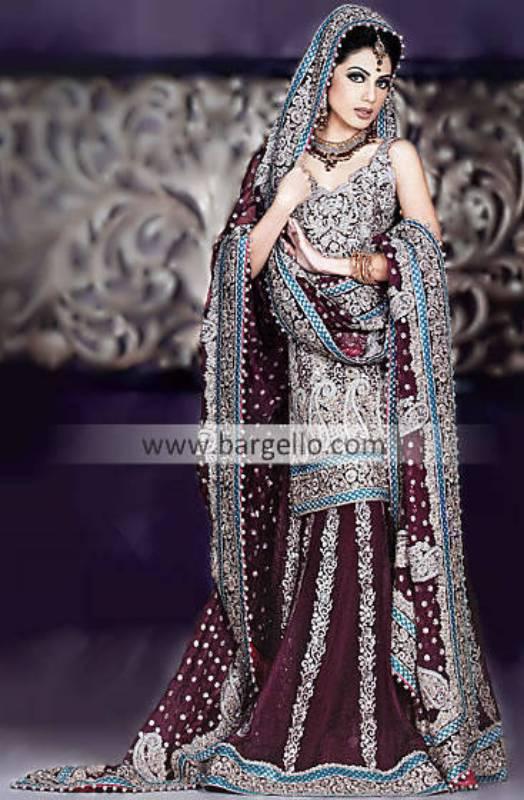 Umar Sayeed Wedding Lehenga Wedding Lehnga, Bridal Lehenga, Heavy Embroidered Lehenga