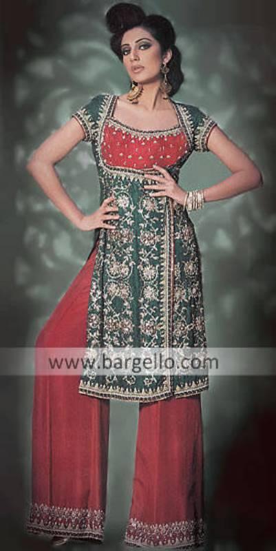 Unique Pakistani Embroidery Makers Bargello Pakistani Embroidery Designer Dresses