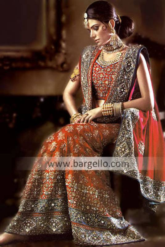 Pakistani Indian Fashion 2009 2010 For Brides Bridesmaid & Party Wears India