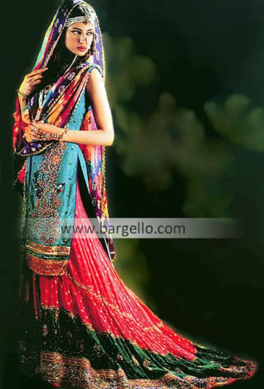 Pakistani Bridal Gharara Designer Gharara Pakistan UK USA Canada Australia