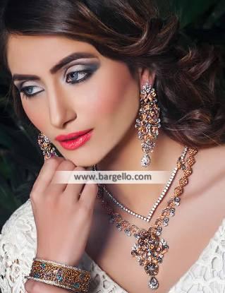 Zircons Indian Wedding Jewellery Sets Huntington New York NY USA