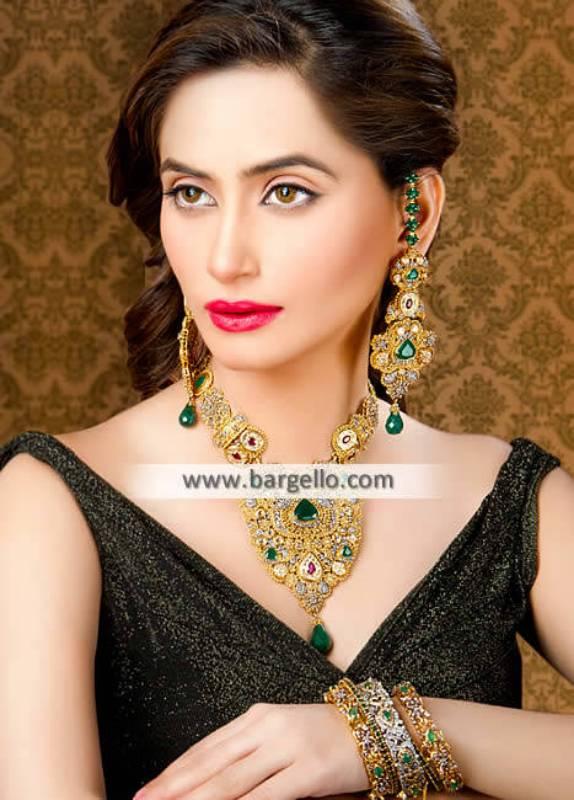 Rajhistani Gold Plated Jewellery Sets Brooklyn New York NY US