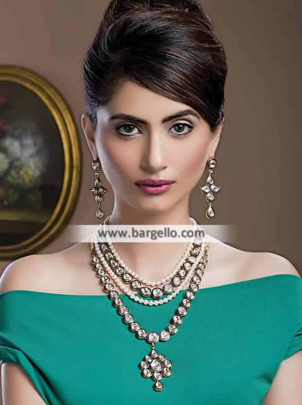 Pakistani Kundan Jewellery Sets Farmington Hills Michigan USA Party Wear Kundan Sets