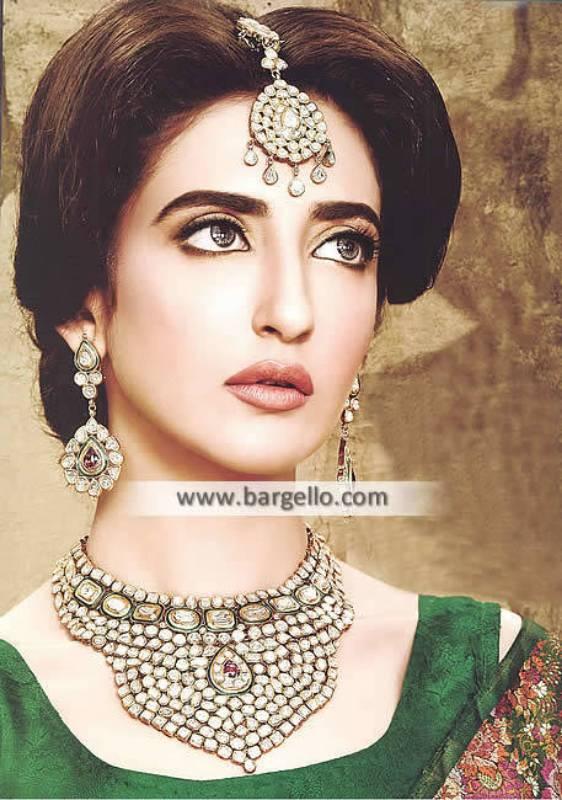 Wedding Jewellery Sets Troy Michigan USA Pakistani Jewellery Sets Sterling Silver