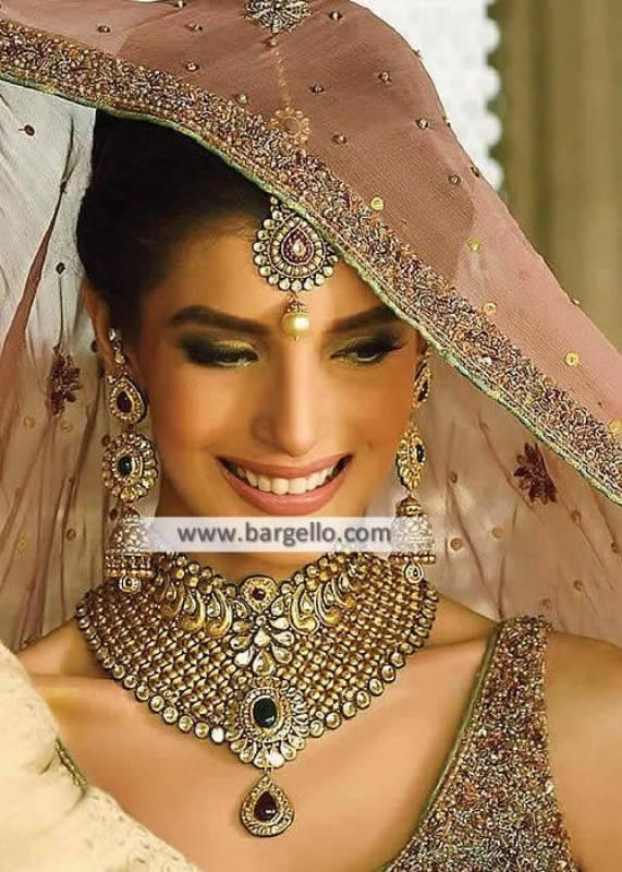 Pakistani Bridal Jewellery Sets Hicksville New York NY US