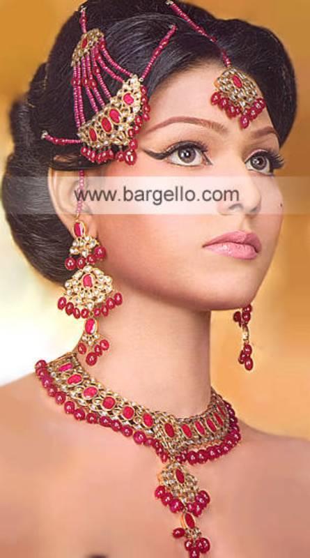 Mother of pearls set Pakistani Jewelry designer sets