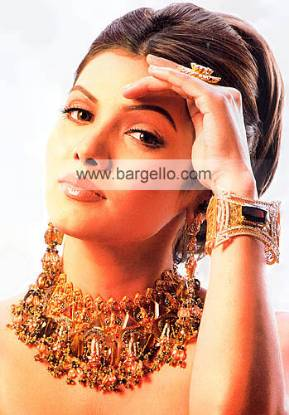 Beautiful jewellery set from Pakistan contemporary, bridal and vintage