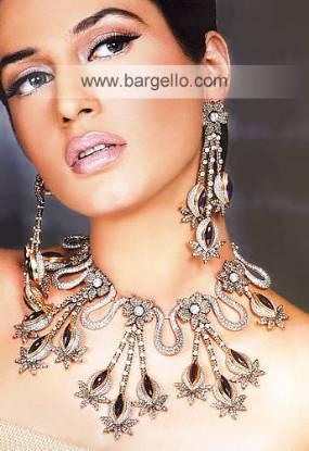 Bold pendants, colourful beading, long earrings are hot this season