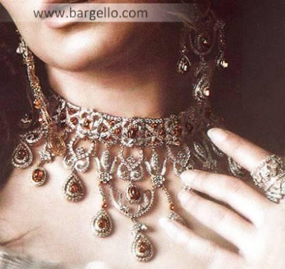 Pakistani Designer Jewellery. Pakistan's renwoned Fashion and Jewellery Designer Bargello