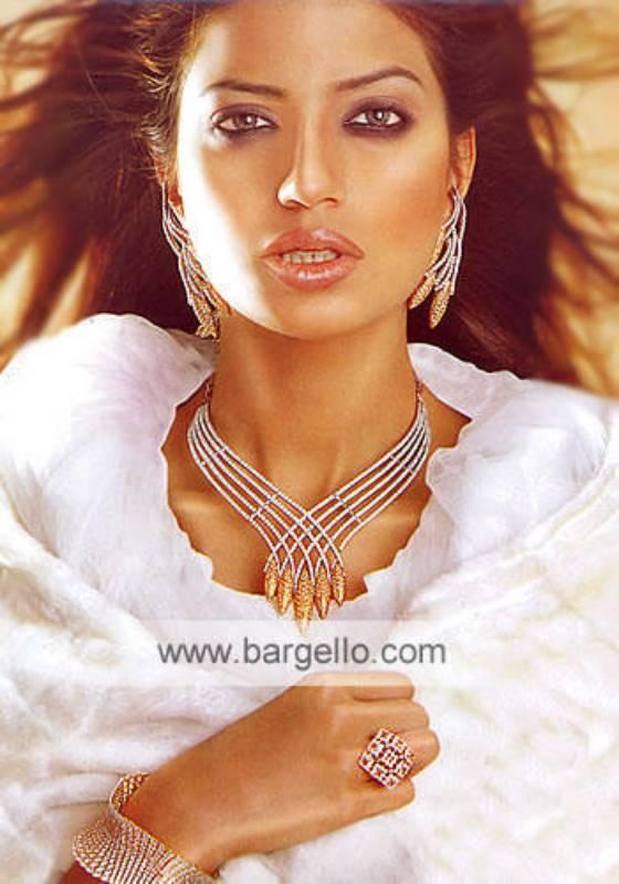 Amazing high fashion jewellery now on 925 silver diamond-alike sets