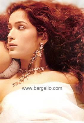 Diamond alike jewelry jewellery made with zircons and swarovski crystals