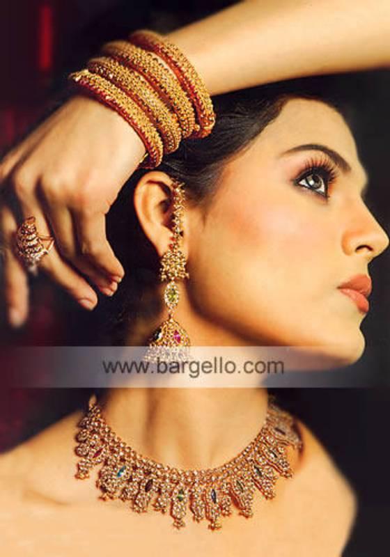 Traditional Pakistani Bridal Jewelry Dubai, UAE Indian Jewelers in Dubai