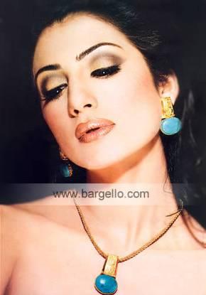 Turquoise Feroza Jewellery Set Feroza Jewelry Pakistani Jewelry in California, USA