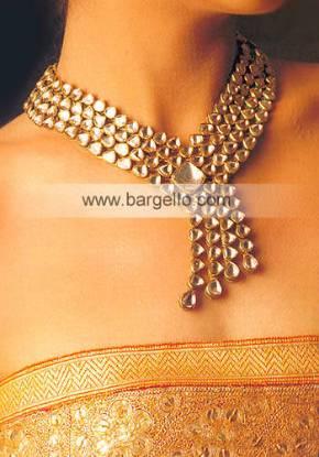 Traditional Pakistani Afghani Rajahstani Kundan Jewelry Designs Online Store