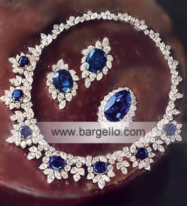 Designer Silver Gold Diamond Jewellery Pakistani Designer Jewelry Women's Jewelry