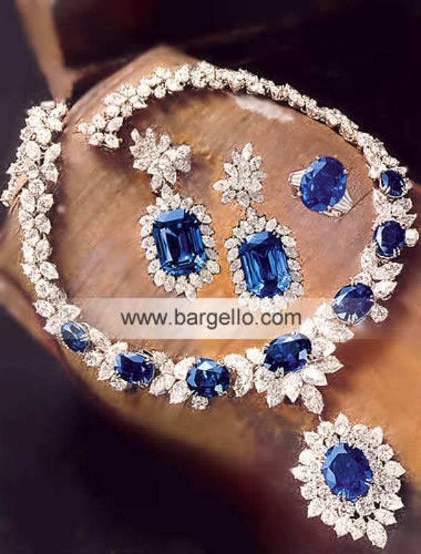 Pakistan Fashion jewelry stones, diamonds, Gold silver jewelery