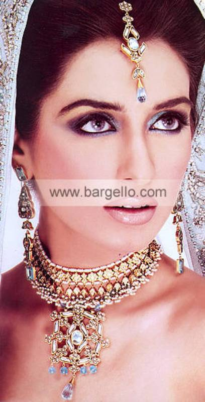 High Quality Pakistani Kundan Jewelery Sets Jewellery
