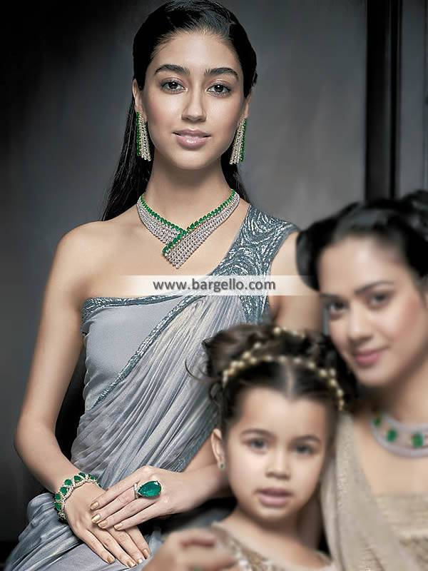 Diamond Necklace Jewellery Sets in sterling silver UK USA Canada Australia