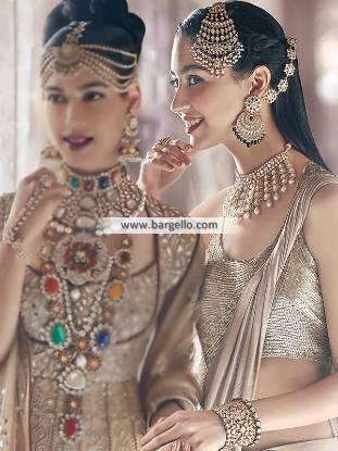 Designer Choker Earring and Jhoomer Sets Indian Designer Jewellery Sets