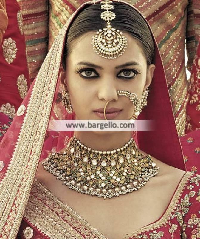 Exclusive Nauratan Jewellery Sets Nauratan Bridal Choker Sets
