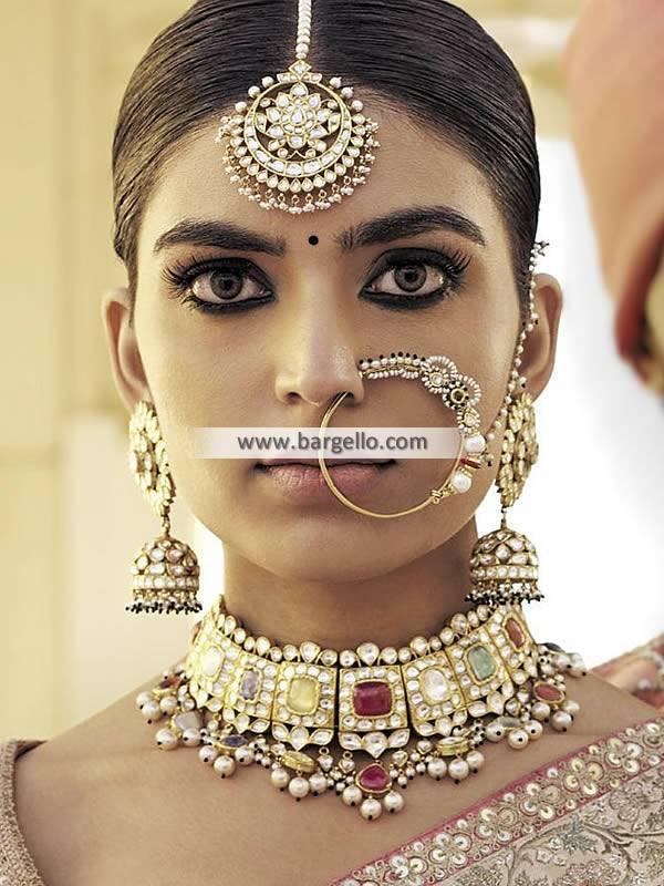 Nauratan Bridal Choker Nauratan Jewellery Sets Oslo Norway Designer Jewellery Sets