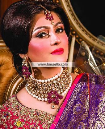 Costume Jewellery Sets Keynes UK Choker Earrings and Bindiya Jewellery Sets
