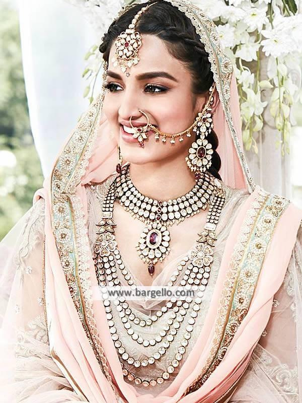 Indian Wedding Jewellery Newham London UK Kundan Jewellery Sets for Indian Bride